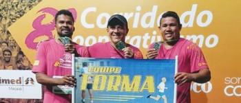 Atletas canoenses fazem bonito na 8° Corrida do Cooperativismo em Maceió