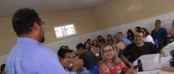 Professores de Lagoa da Canoa participam de formação na área de robótica
