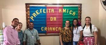 Tainá Veiga recebe do Conselho Tutelar de Lagoa da Canoa o título de Prefeita Amiga da Criança