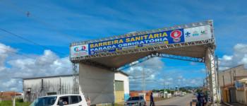 Barreira Sanitária em Lagoa da Canoa abordou mais de 44 mil veículos em três meses