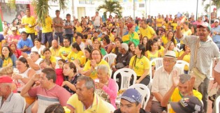 Projeto Copa da Praça mobiliza centenas de torcedores em Lagoa da Canoa